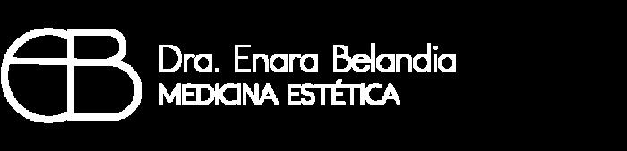 Logotipo en blanco de la doctora Enara Belandia
